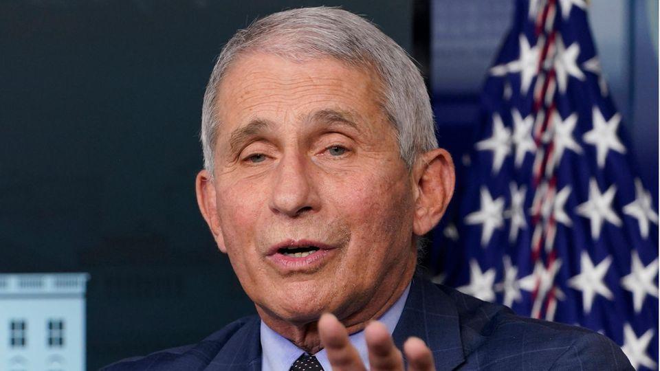 Anthony Fauci, Direktor des Nationalen Instituts für Infektionskrankheiten in den USA