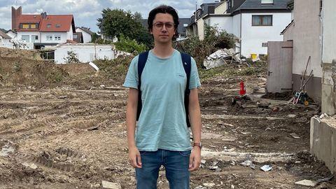 Ahrweiler: Die Flut zerstörte die Häuser seiner Familie – nun fordert dieser 26-Jährige Aufklärung