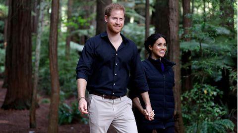 Im Herbst 2018 besuchten Prinz Harry und seine Frau Meghan Neuseeland