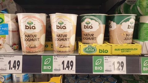 Bio-Joghurt von Arla