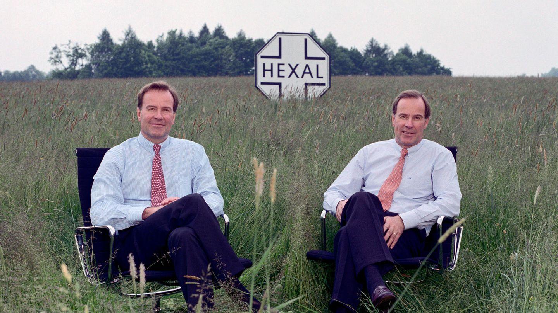 Die Zwillinge Andreas und Thomas Strüngmann (hier im Jahr 2003) machten ihre ersten Milliarden mit dem Pharmahersteller Hexal