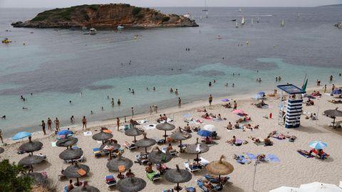Mallorca, wie auch der Rest Spaniens, gilt derzeit als Hochinzidenzgebiet und wurde vom Auswärtigen Amt mit einer Reisewarnung versehen (Symbolbild)