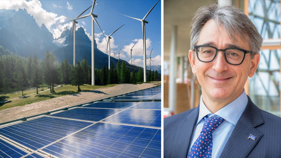 Aldo Romani ist der Green-Bond-Experte der Europäischen Investitionsbank