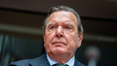 Altkanzer Gerhard Schröder 2020