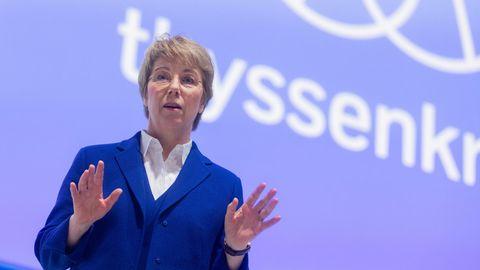 Martina Merz, Vorstandsvorsitzende von Thyssenkrupp