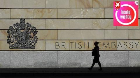 Ein Mitarbeiter der britischen Botschaft in Berlin wurde kürzlich wegen Spionage für Russland verhaftet