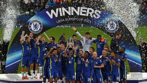 Sieg für den FC Chelsea: Die Mannschaft von Trainer Thomas Tuchel gewinnt den Supercup.