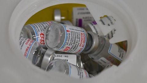 Entsorgung von Impfstoffdosen