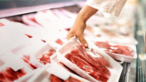 Fleisch in Gronau gestohlen.