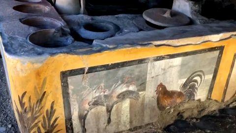 Antike Imbissbude in Pompeji