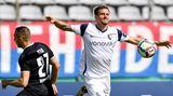 Simon Zoller strauchelt im Pokalspiel beim Wuppertaler SV
