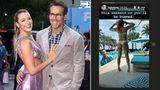 Vip News: Blake Lively wirbt mit vollem Körpereinsatz für neuen Film von Ryan Reynolds