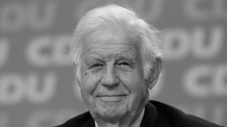 Der frühere sächsische Ministerpräsident Kurt Biedenkopf