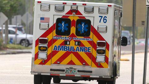 Rettungswagen in Florida
