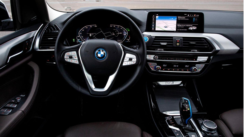 Interior eines BMW iX3
