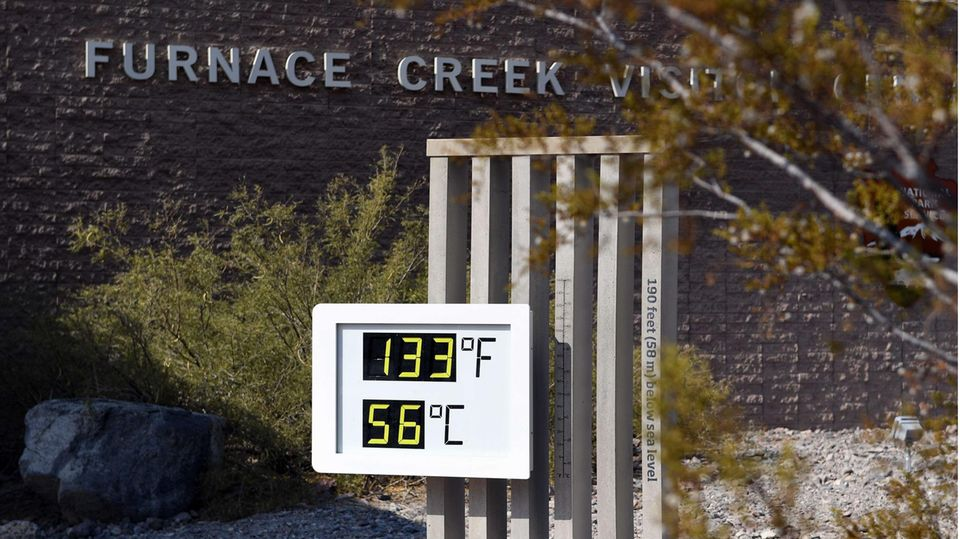 In Kalifornien wurden Mitte Juli Temperaturen von über 50 GradCelsius gemessen