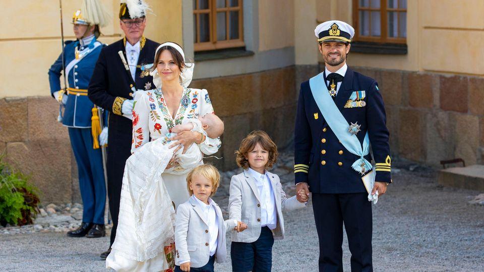 Taufe in Schweden