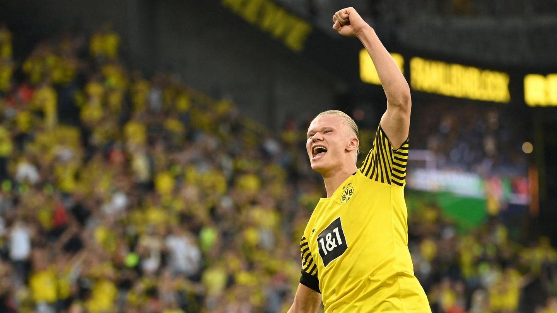Erling Haaland zeigte sich im ersten Bundesliga-Spiel in Topform