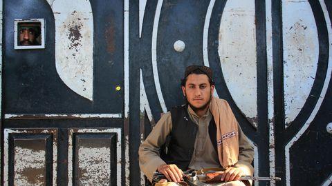 Ein Talibankämpfer in Herat