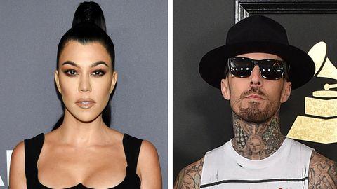 Kourtney Kardashian und Travis Barker