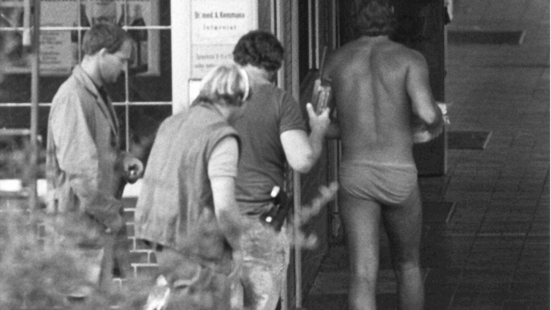 Polizist überbringt in Unterhose Lösegeld an Geiselnehmer