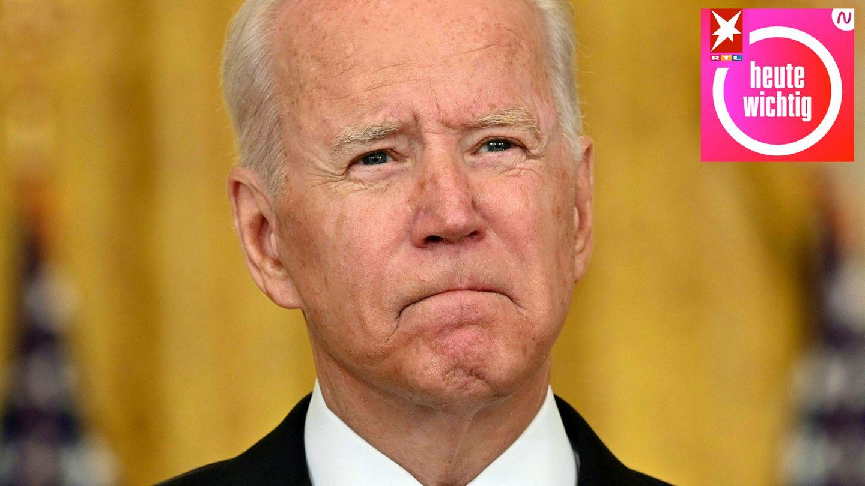 Joe Biden, Präsident der USA, spricht in einer Fernsehanspracheüber die Situation in Afghanistan
