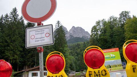 Höllentalklamm am Fuß der Zugspitze