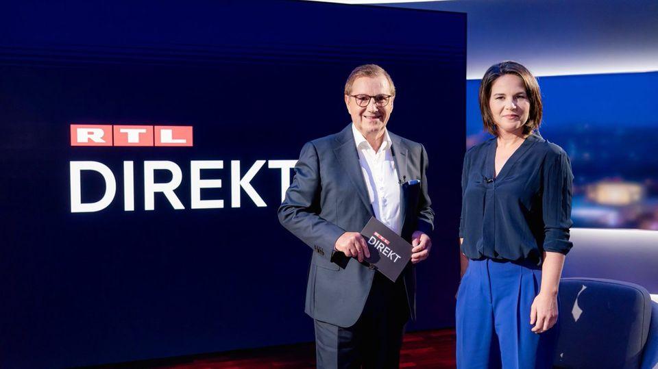 """Annalena Baerbock bei """"RTL direkt"""""""