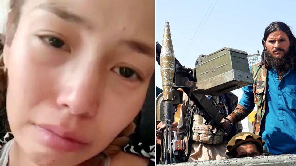 Taliban-Regierung: Frau aus Afghanistan berichtet über die schlimme Lage
