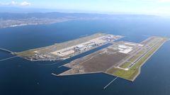 Kansai International Airport aus der Luft