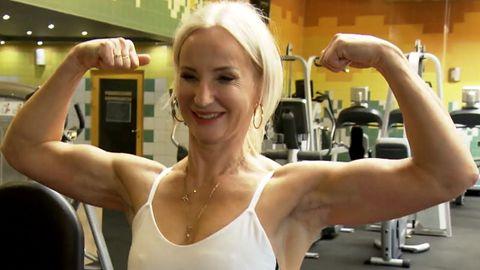 """""""Möchte ein Vorbild für Frauen sein"""" - Die 58-jährige Fitness-Influencerin liebt ihren Körper"""