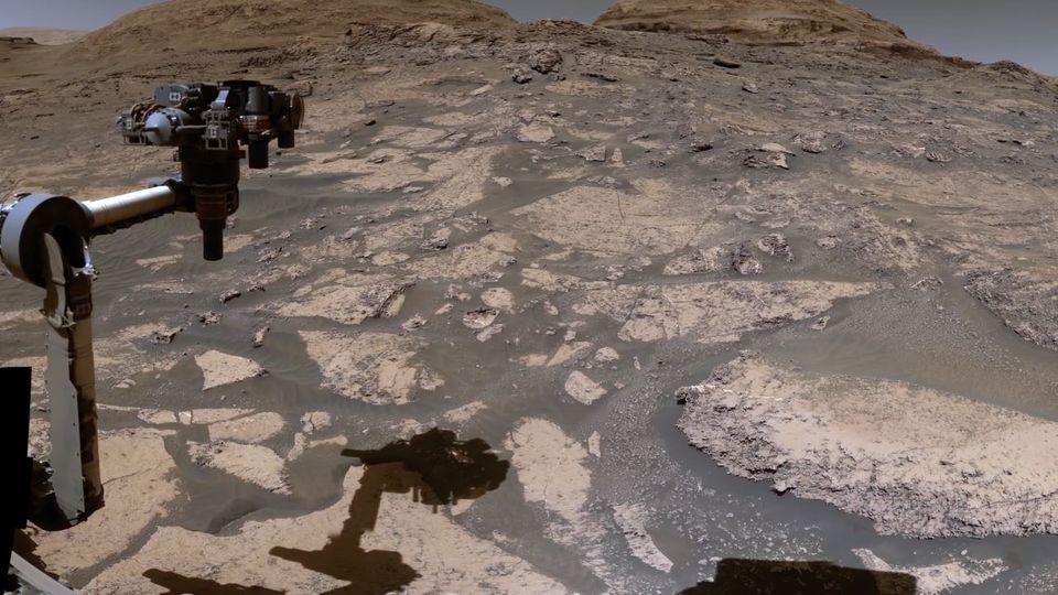 Eine völlig andere Welt:  NASA veröffentlicht gestochen scharfe Bilder vom Mars