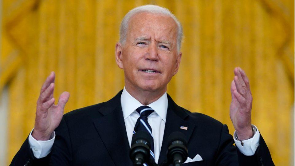 US-Präsident Joe Biden:Ziel sei es, den Einsatz bis 31. August abzuschließen