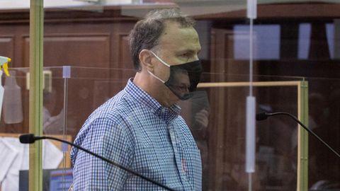 Ken Kurson am Mittwoch vor dem Strafgericht in Manhattan