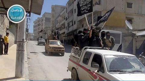 Al-Qaida Splittergruppe 2015 in Syrien