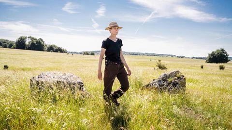 Sara Meier arbeitet als Schäferin in einem Biosphärenreservat