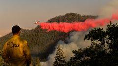Dixie-Feuer in Kalifornien
