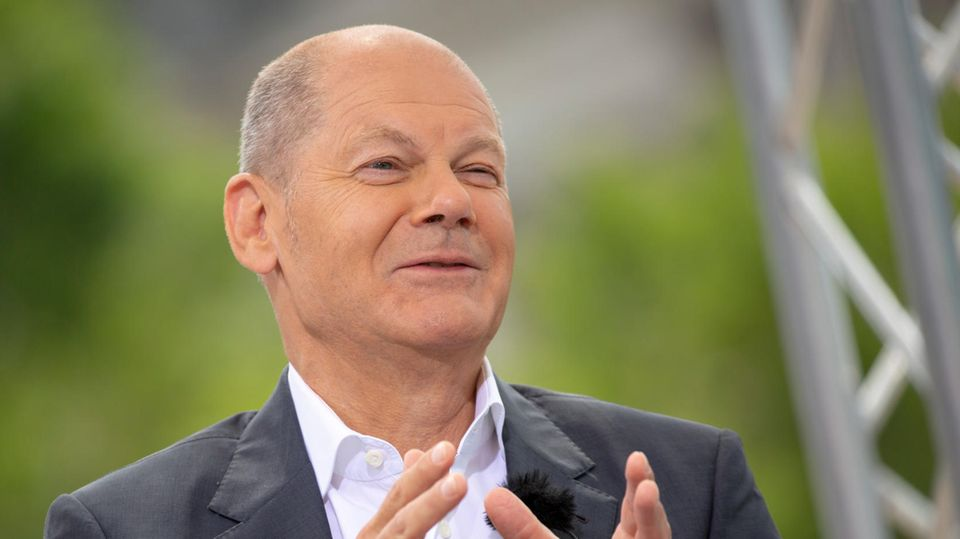 SPD-Kanzlerkandidat Olaf Scholz hat angesichts aktueller Umfragewerte gut lachen
