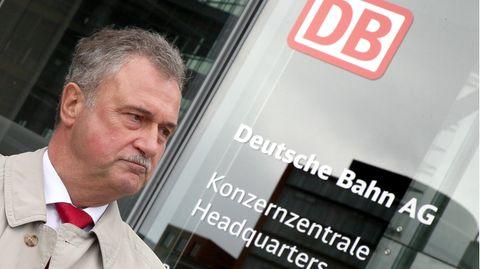 Claus Weselsky, Chef der Lokführergewerkschaft GDL