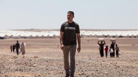 Der Autor Khaled Hosseini in Jordanien 2018