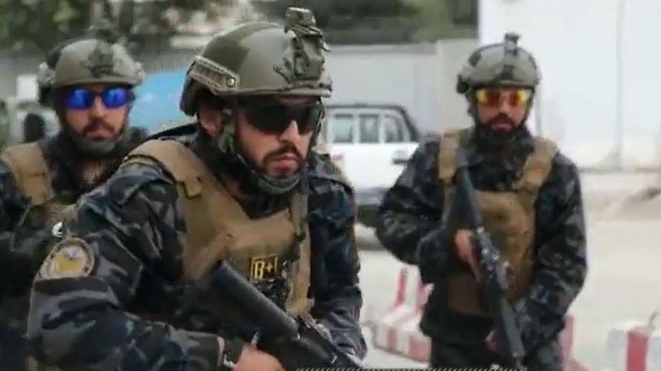 Screenshot eines Taliban-Propagandavideos