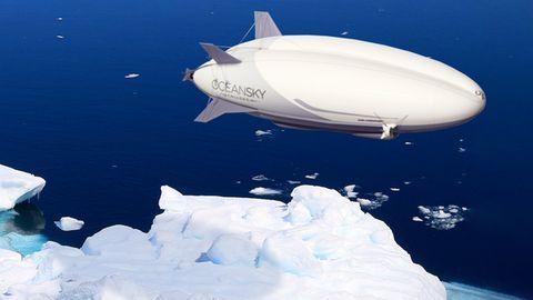 Zukunft des Reisens: Luxusluftschiff bringt Urlauber zum Nordpol
