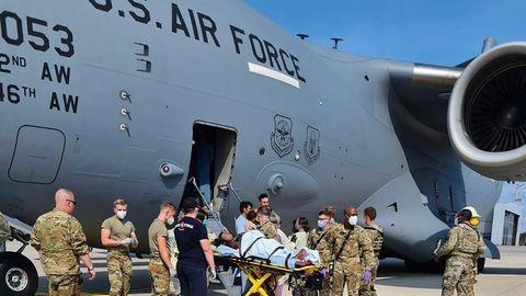 US-Stützpunkt Ramstein ist bereit für 10.000 Afghanistan-Flüchtlinge