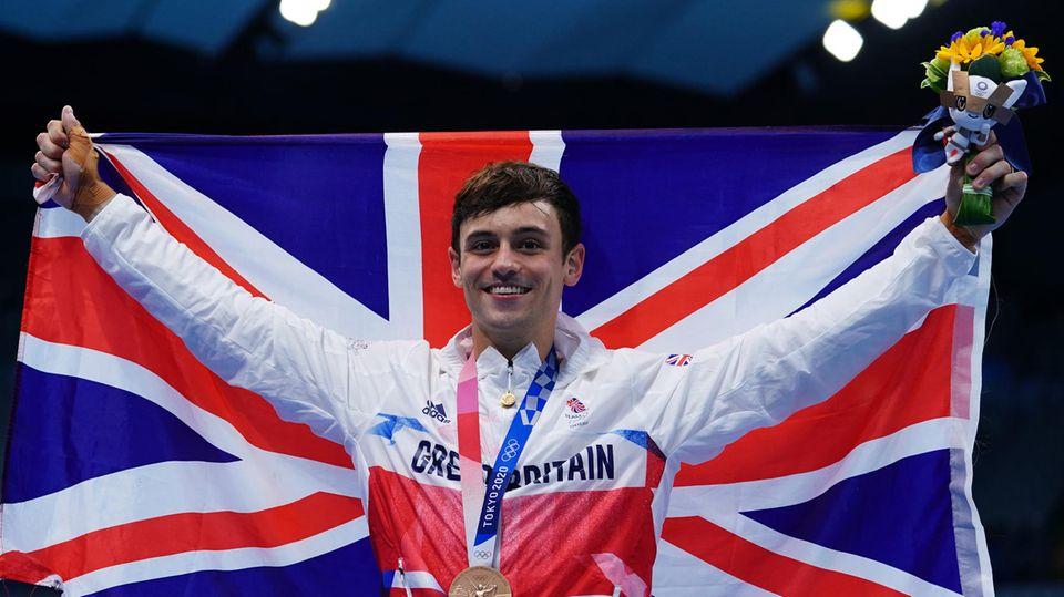 Tom Daley bei den Olympischen Spielen in Tokio