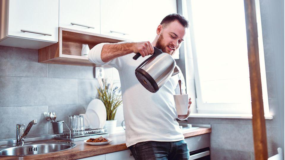 Wasserkocher aus Edelstahl sind beliebte Küchenhelfer