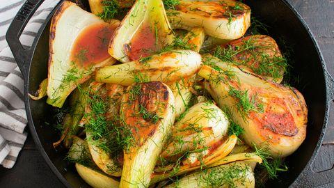 Mediterran schlemmen: Rezept für geschmorten Fenchel in Tomatensauce