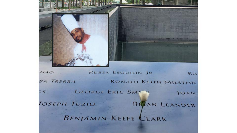 Das Denkmal für die Opfer des 11. September in New York trägt auch den Namen von Benjamin Keefe Clark