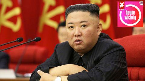 Kim Jong Un sieht auf dieser Aufnahme von Juni 2021 deutlich dünner aus als noch zu Jahresbeginn