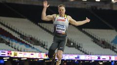 Markus Rehm, Leichtathletik. Behinderung:Unterschenkelamputation.Rehm ist der Superstar unter den deutschen Para-Athleten. Er verfolgt weiter sein Ziel, irgendwann bei den Nicht-Behinderten anzutreten.