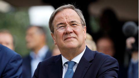 Armin Laschet im Wahlkampf für die Bundestagswahl 2021.